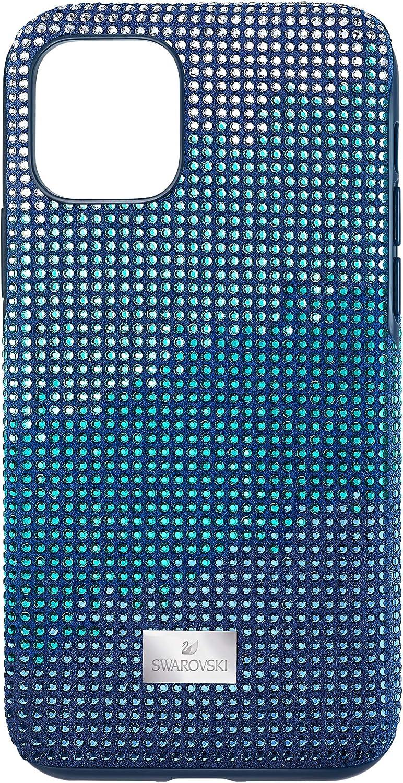 SWAROVSKI Crystalgram Smartphone Case with Bumper, iPhone 11 Pro, Blue