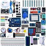 ELEGOO Conjunto Avanzado de Iniciación Compatible con Arduino IDE con Tutorial en Español y UNO R3 Placa, Relé, Modulo…