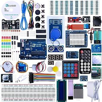 Amazon.com: Kit inicial completo para Arduino Uno R3 con ...