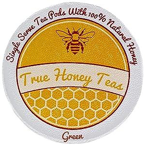 Honey Infused Green Single Serve Tea for Keurig K-Cup Brewers (Box of 22)