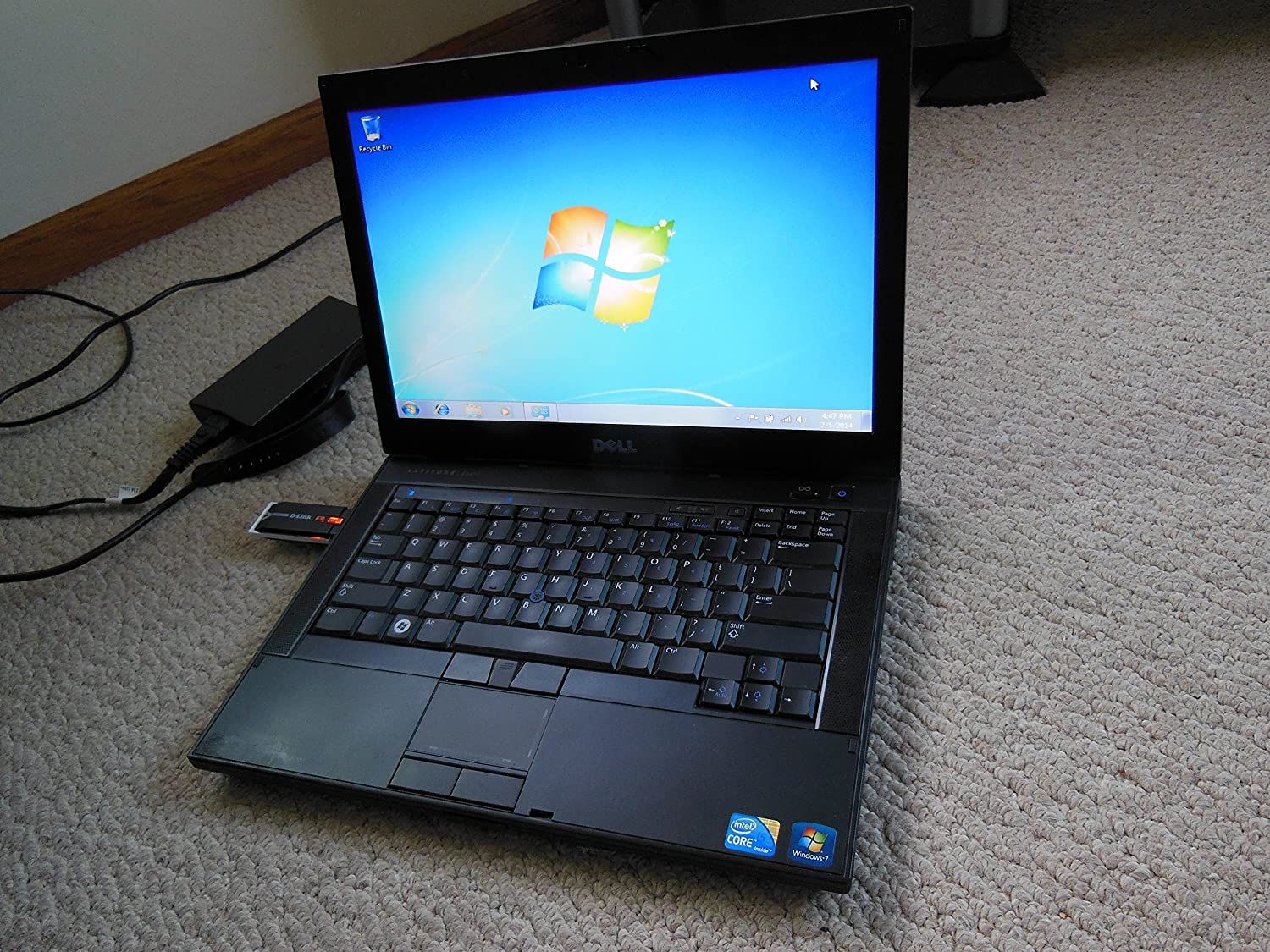 Dell Laptop Latitude E6410 - Core I5 2.40ghz - 2gb RAM - 160gb Hard Drive - Dvdrw - Windows 7 Pro
