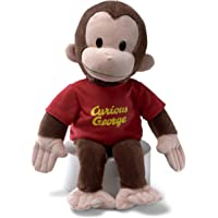 Curious George - Red Shirt LargeStuffed Plush Toy,41 x 20 x 20cm