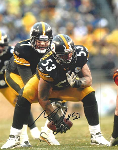 cc93e02c767 Maurkice Pouncey Autographed Pittsburgh Steelers 8x10 Photograph -Certified  Authentic