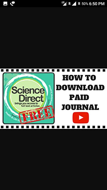 Amazon com: Free download paid journals and articles