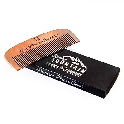 rocky mountain wooden comb