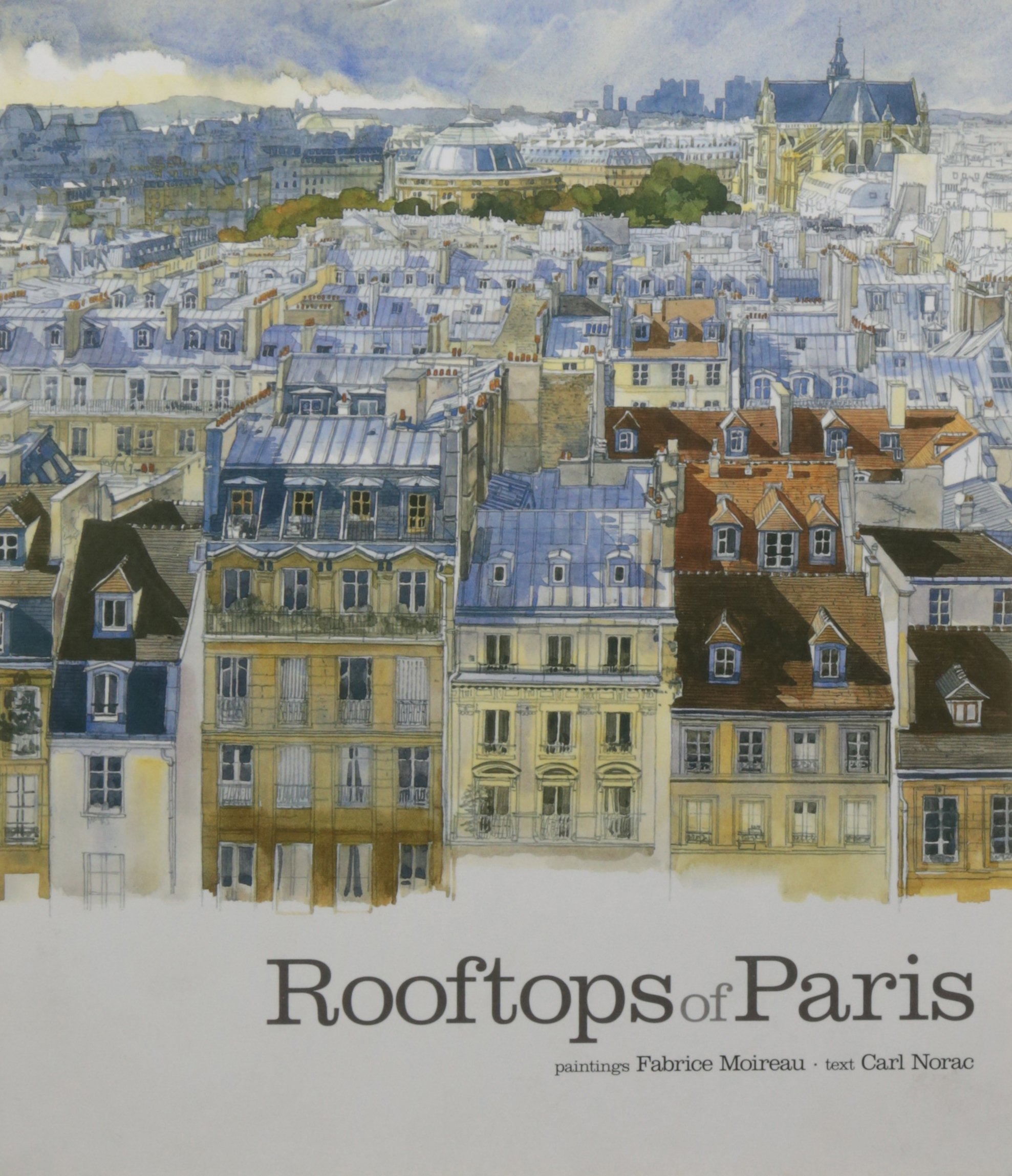 Rooftops of Paris (Sketchbooks)