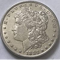 1880 S Silver Morgan Beautiful 7/8 Wild West Era Coin Dollar Extremely Fine