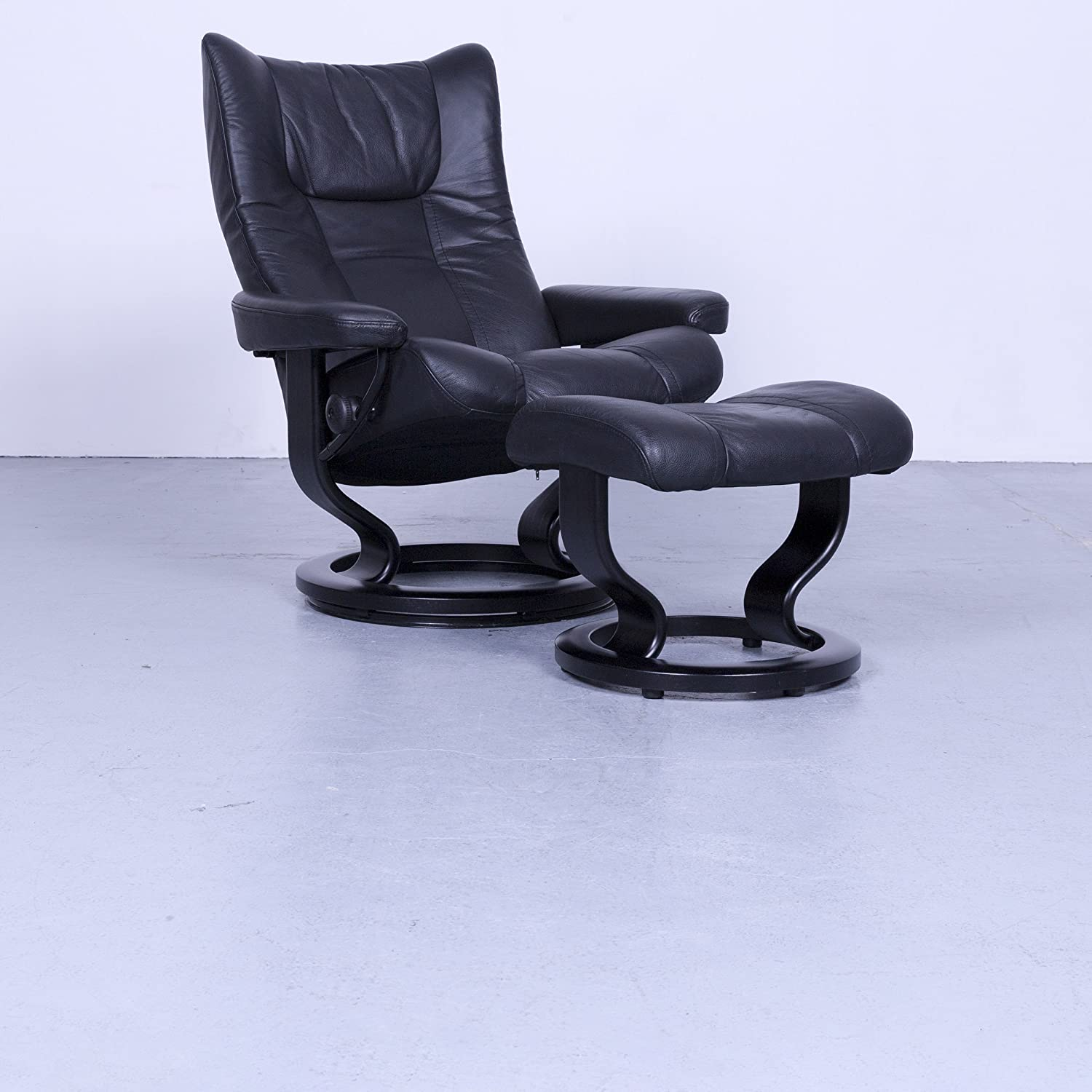 Ekornes Stressless Wing Relax Sessel Garnitur + Hocker ...