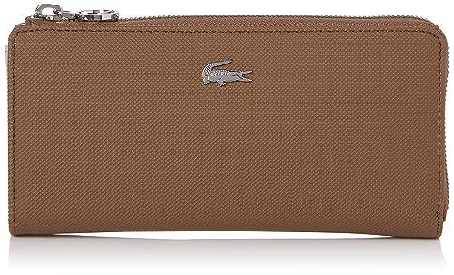 Lacoste - Nf2536dc, Carteras Mujer, Rojo (Otter), 3x9.5x19 cm (W x H L): Amazon.es: Zapatos y complementos