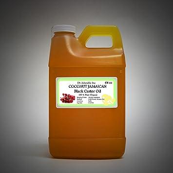 Amazon.com: Negro de Jamaica de coco orgánico Aceite de ...