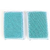 Butler Dawn Flip It Dual Sided Nylon Mesh and Cloth Kitchen Sponge, 3-pack (6 Sponges)
