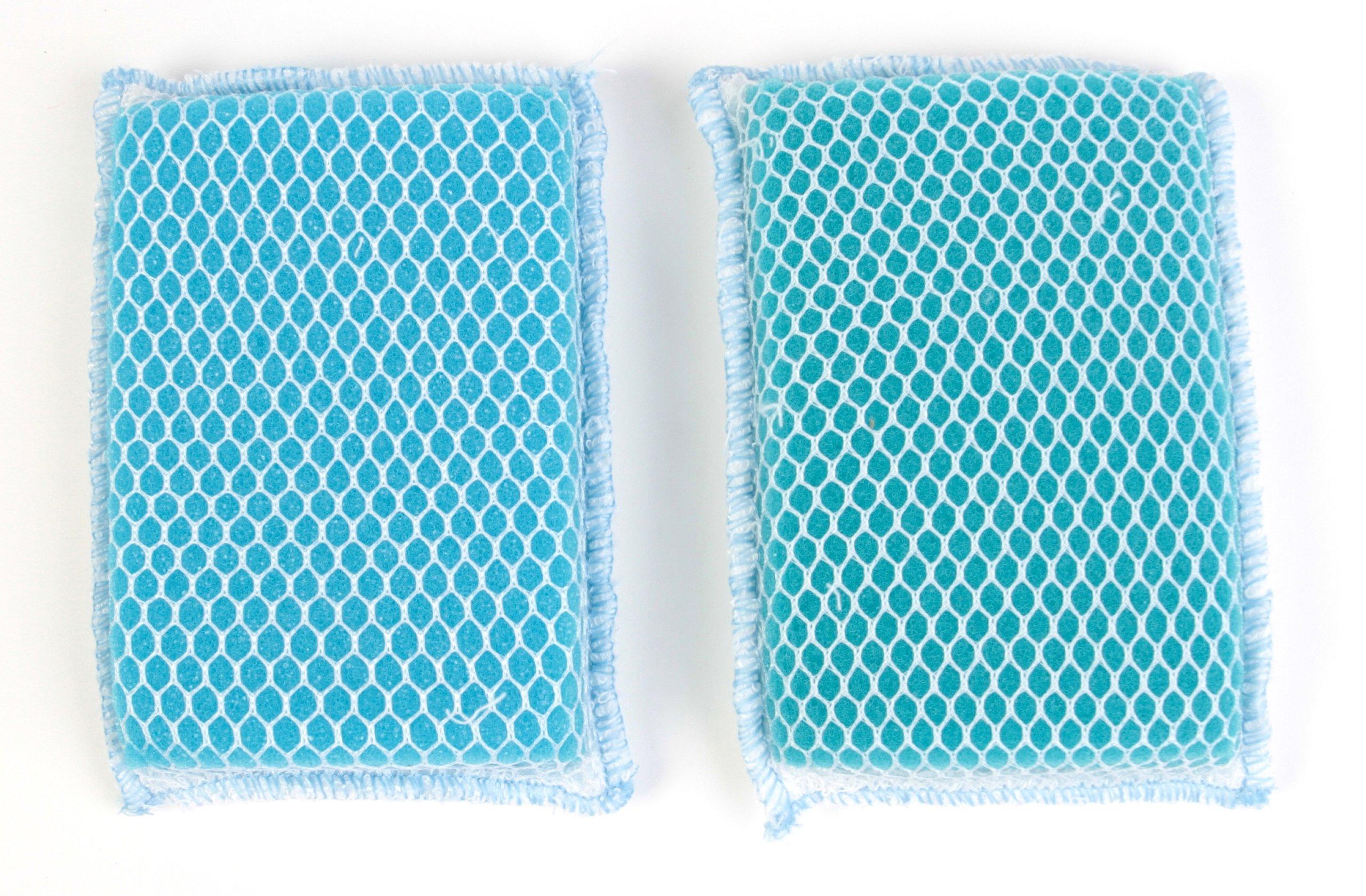 Butler Dawn Flip It Dual Sided Nylon Mesh and Cloth Kitchen Sponge, 48-pack (96 Sponges)