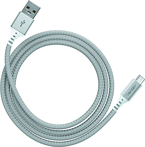 4ft Silver Micro USB Ventev chargesync Alloy Cable