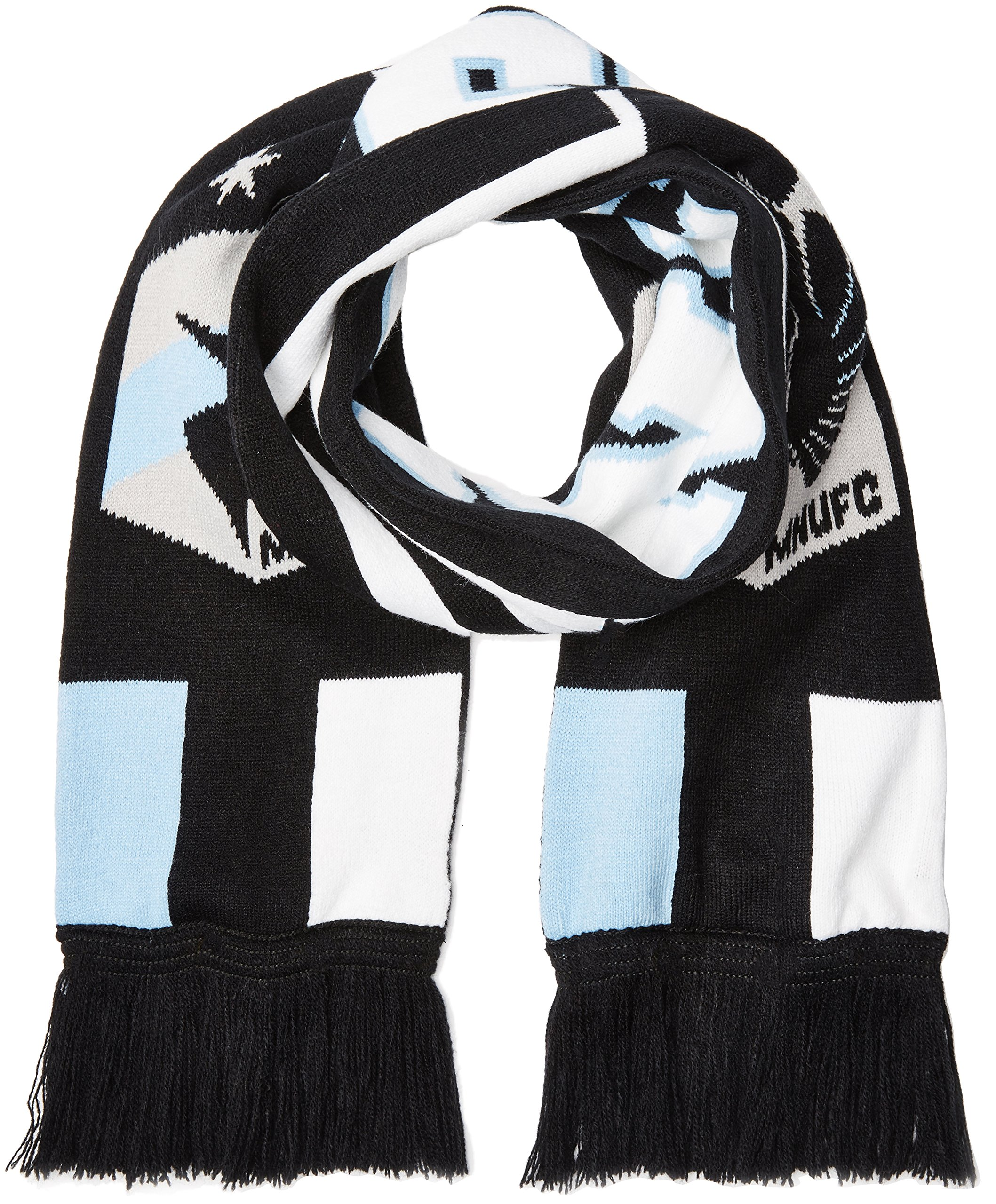 Outerstuff MLS Minnesota United R S8FDV Youth Boys Fringe Scarf, One Size (8), Black