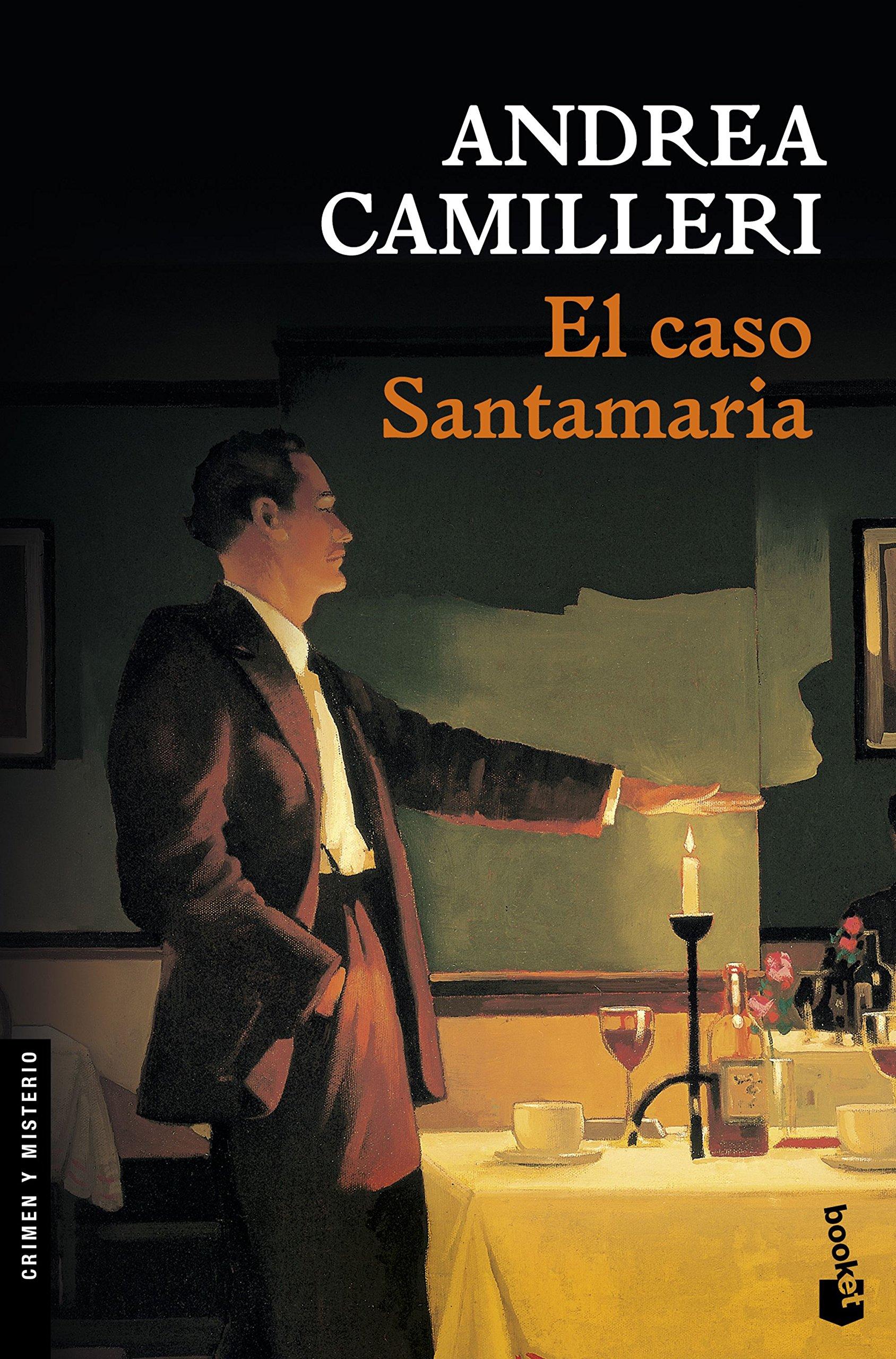 El caso Santamaria (Crimen y Misterio): Amazon.es: Andrea Camilleri, Carlos  Vitale: Libros