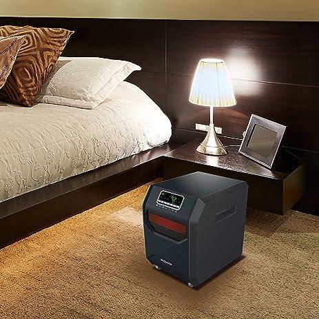 LifeSmart LifeZone 6 Element Infrared Heater ZCHT1001US - - Amazon.com