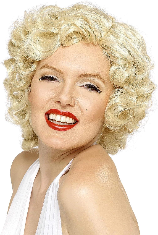 Smiffys-42207 Licenciado Oficialmente Peluca de Marilyn Monroe ...