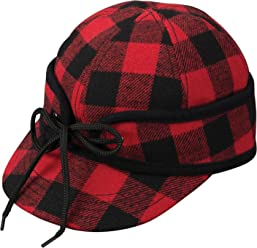 Broner Mens Ole  Railways Work Cap with Quilted Lining and Inside Earflaps 43acc532c23b