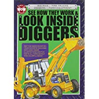 See How They Work & Look Inside Diggers: Big Rigs, Fire Trucks, Diggers, Farm Equipment (World of Wonder)