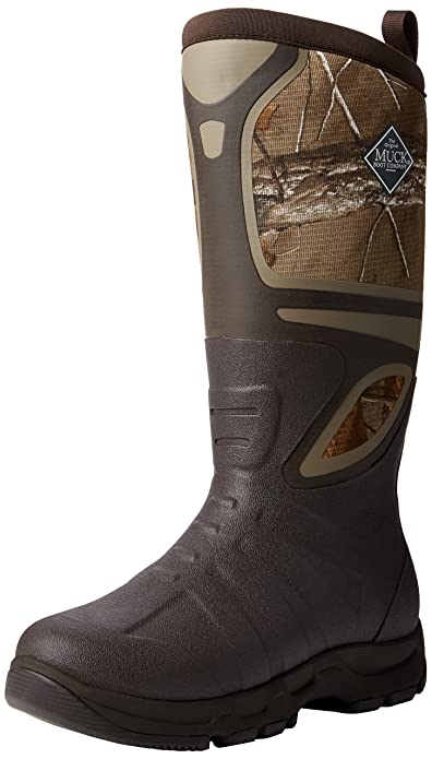 Amazon.com | Muck Boots Mens Pursuit Shadow Pull-On - Realtree ...
