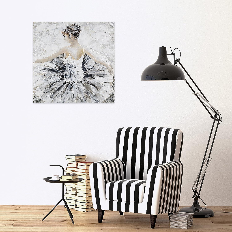 KunstLoft® Acryl Gemälde \'Der Vorhang fällt\' 80x80cm | original ...