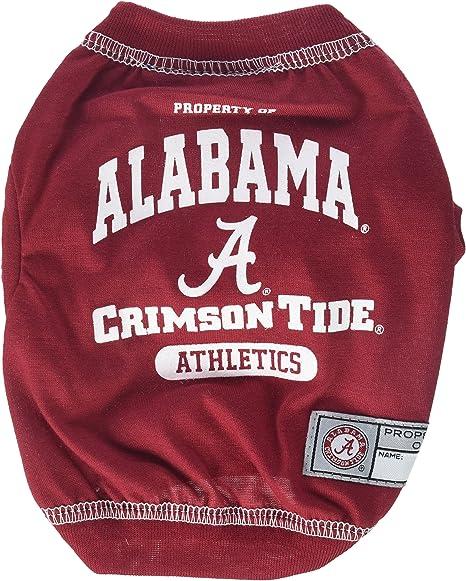 Extra Large NCAA Alabama Crimson Tide Pet JerseyJersey Stretch Team Color