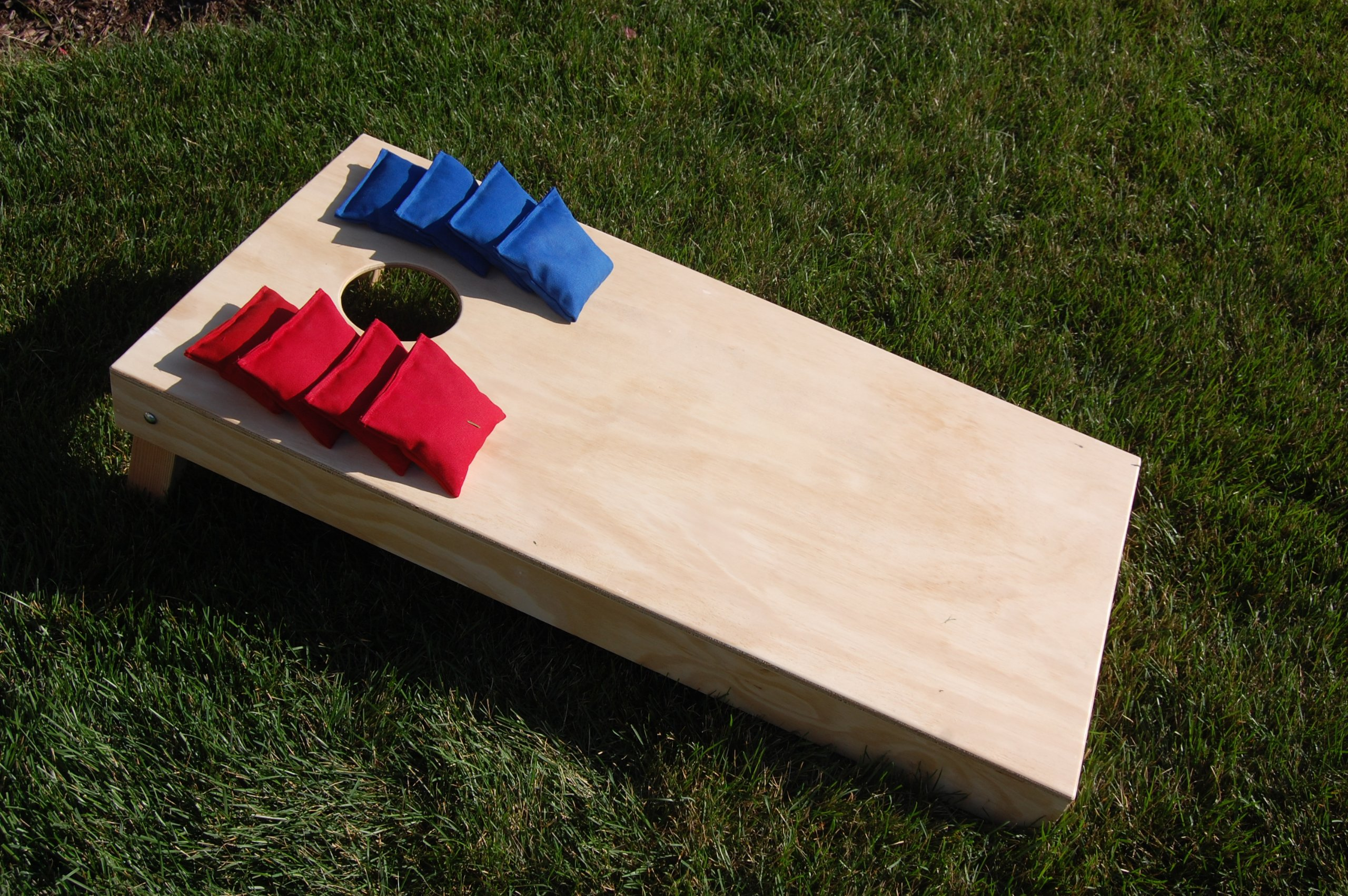 4x2' Regulation Cornhole Set (Bags Included) by SC Cornhole (Natural)