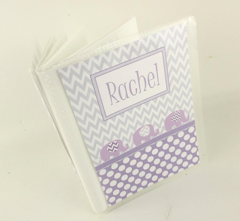 Grandmas brag book personalized photo album girl boy Baby Shower Gift owl photo album 4x6 5x7 mothers day gift grandparent present 551