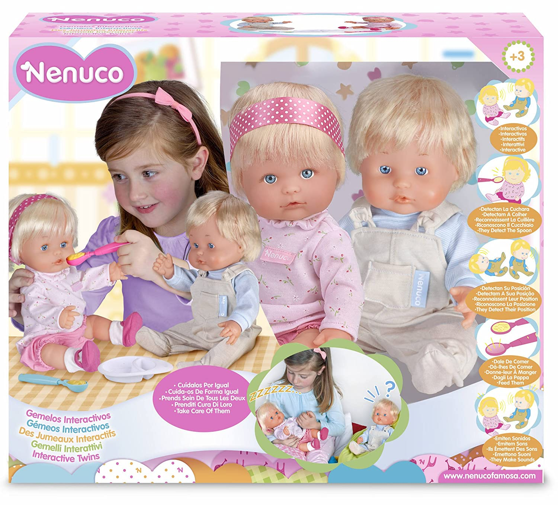Famosa Nenuco Nenuco Nenuco - Interaktive Zwillinge 5c3846