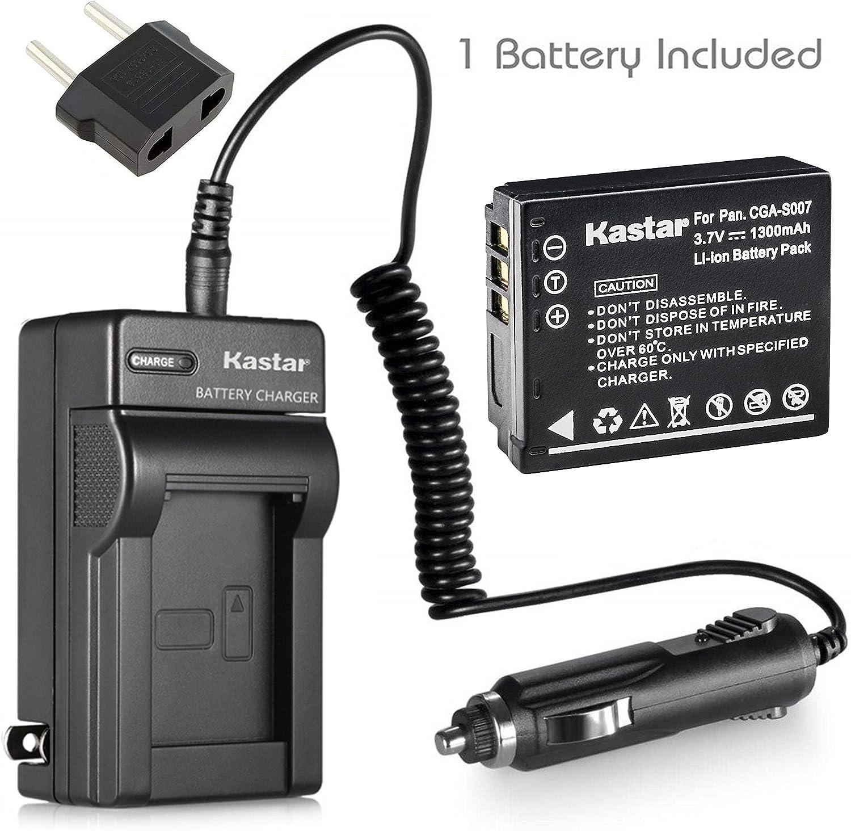 DMC-TZ15 Digital Camera DMC-TZ5 Charger for Panasonic Lumix DMC-TZ4 Battery