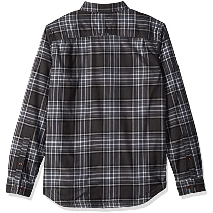 94489bbf3e7 ... M Columbia Men's Flare Gun Waffle Lined Flannel II, Graphite Check, ...