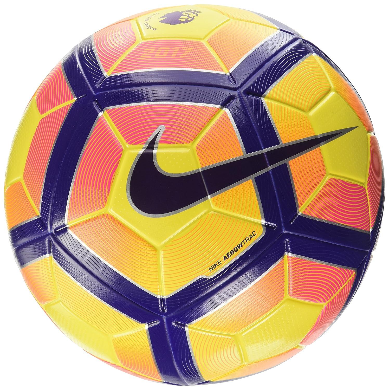 プレミアリーグNike Ordem 4 Footballサッカーボール(高視認性) イエロー、パープル B01MAWOE99