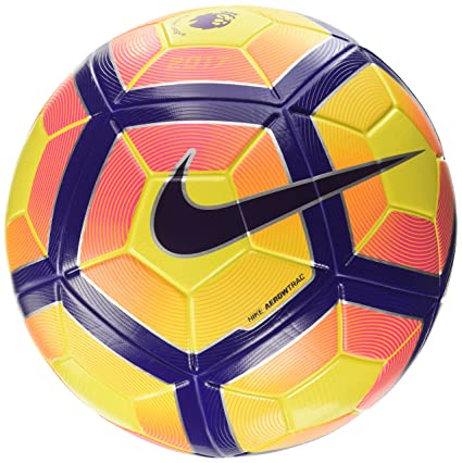 official photos 73b03 c41a0 Nike Premier League Ordem 4 Football Soccer Ball(Hi-Vis) Yellow, Purple