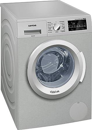 Siemens-lb iq500 - Lavadora waterperfect wm12t48xes acero clase de ...