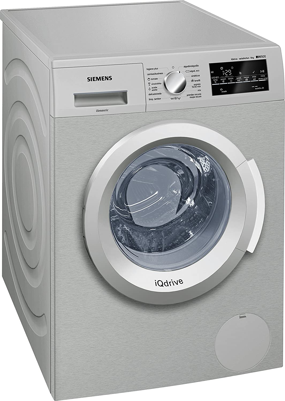 Siemens-lb iq500 - Lavadora waterperfect wm12t48xes acero ...