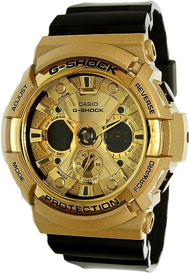 Casio reloj hombre G-Shock cronógrafo GA-200GD-9B2ER: Amazon.es: Relojes