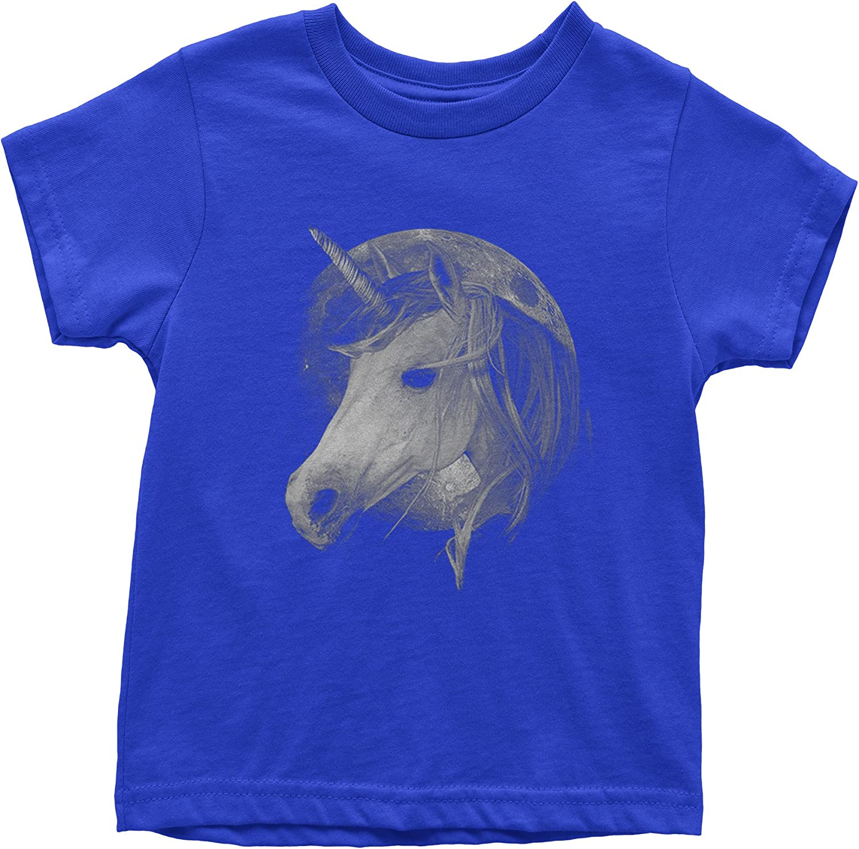 Expression Tees Unicorn Moon Youth T-Shirt