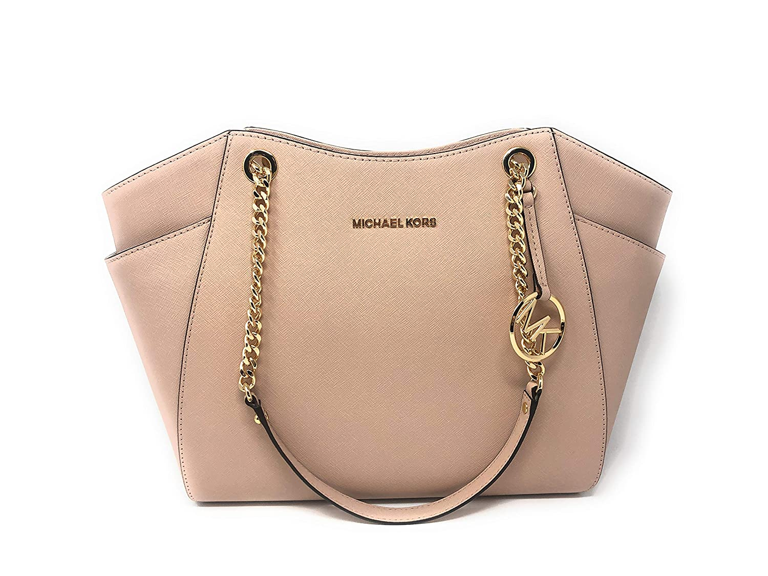 768f34bda05a Amazon.com: Michael Kors Women's Jet Set Travel - Large Chain Shoulder Tote:  Michael Kors: Shoes