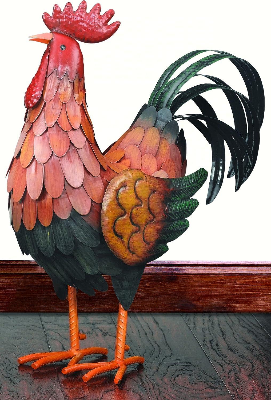 Regal Art &Gift Golden Rooster Decor, Large