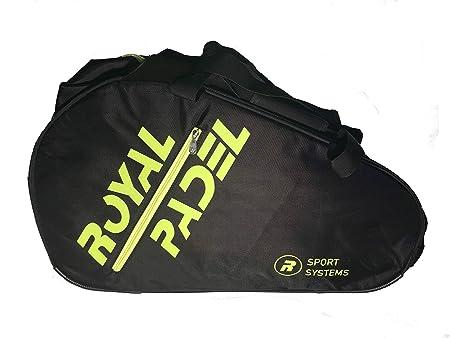 Royal Padel Voltage Paleteros de Pádel, Unisex Adulto, Negra/Amarillo, Talla Única: Amazon.es: Deportes y aire libre