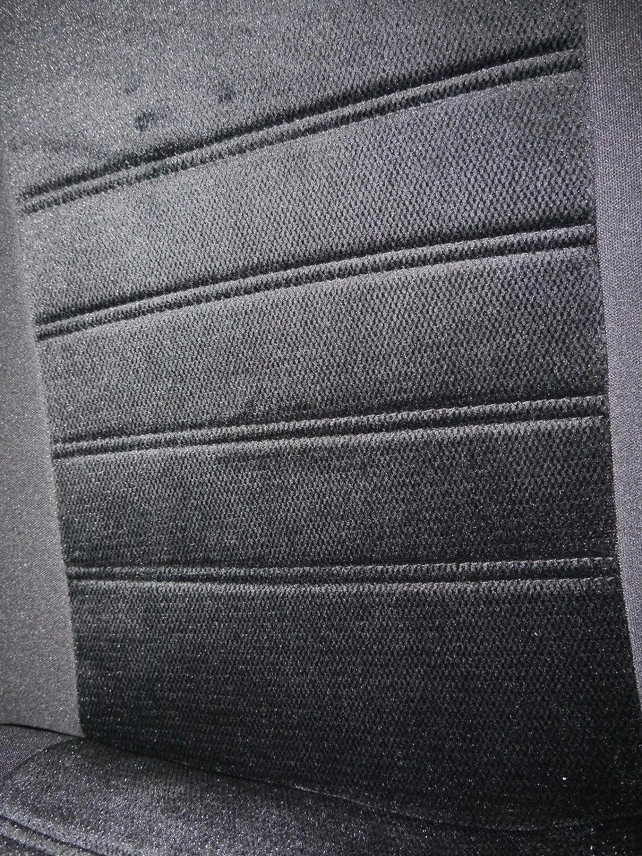 Sitzschoner Autozubeh/ör Innenraum Kfz Tuning No Sitzbez/üge K-Maniac f/ür Nissan Navara 2 Autositzbez/üge Set Komplett Universal Schwarz Sitzbezug