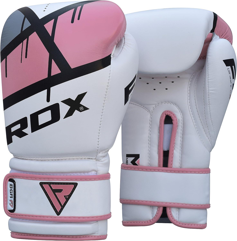 RDX Guantes de Boxeo Mujer Kick Boxing Muay Thai Sparring Saco Entrenamiento