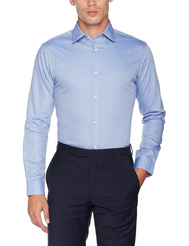 TALLA L. SELECTED HOMME Shdtwopen-Fun Shirt LS Noos, Camisa para Hombre
