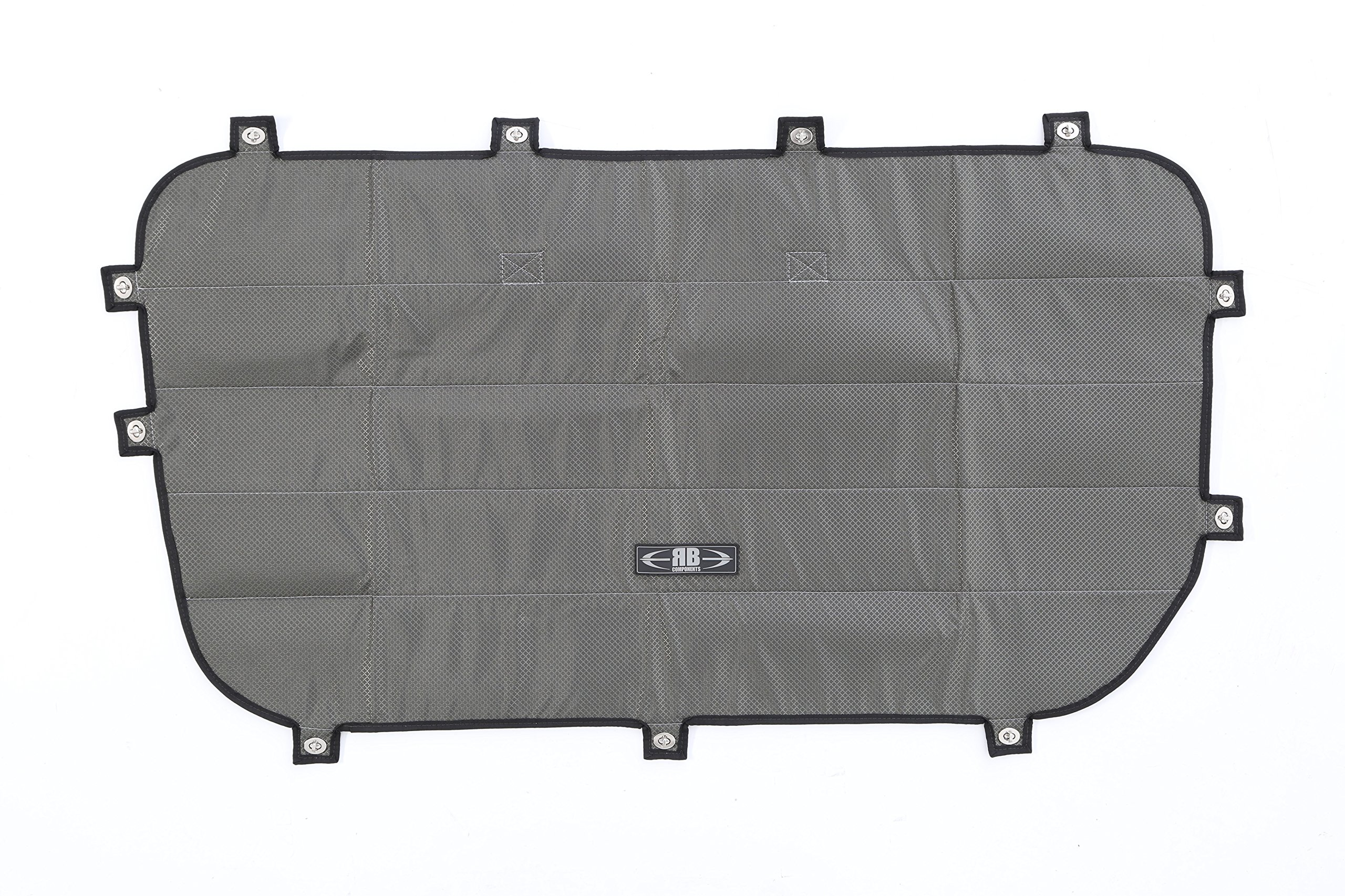 07+ Sprinter Van Driver's Side Galley Window Sun Shade/Privacy Cover, Inset by RB Components (Image #2)