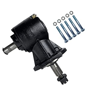 40HP Shear Bolt Gearbox (Replaces Omni RC30) with 5 Pack Shear Bolt Kit by Rancher Supply