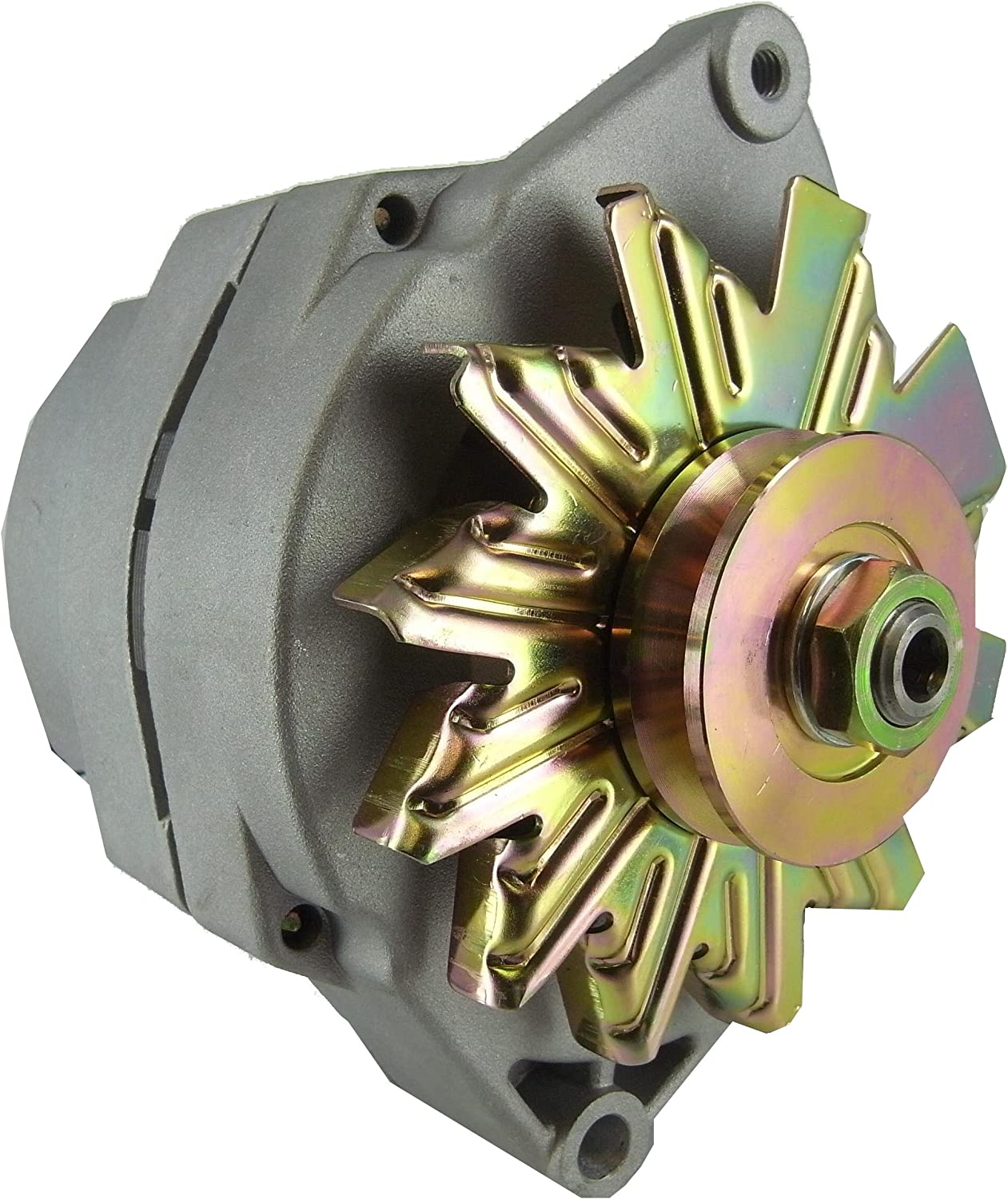 .NEW ALTERNATOR Fits 10SI DELCO 1 WIRE HOOKUP 50 AMP 24 VOLT