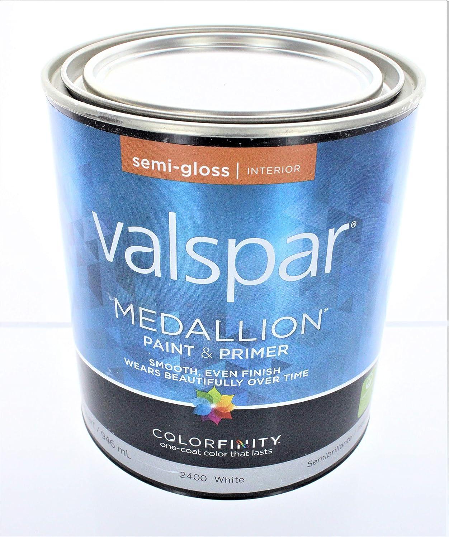 Valspar 27-2400 QT 2400 Interior Latex Paint, 1