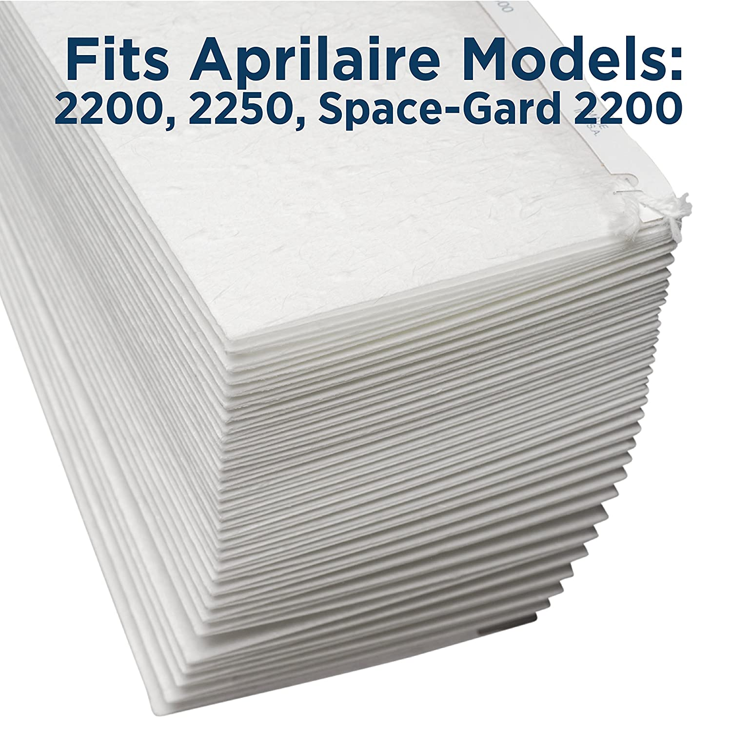 MERV 10 Aprilaire 201 Replacement Filter for Aprilaire Whole House Air Purifier Models: 2200 Pack of 1 2250 Space Gard 2200