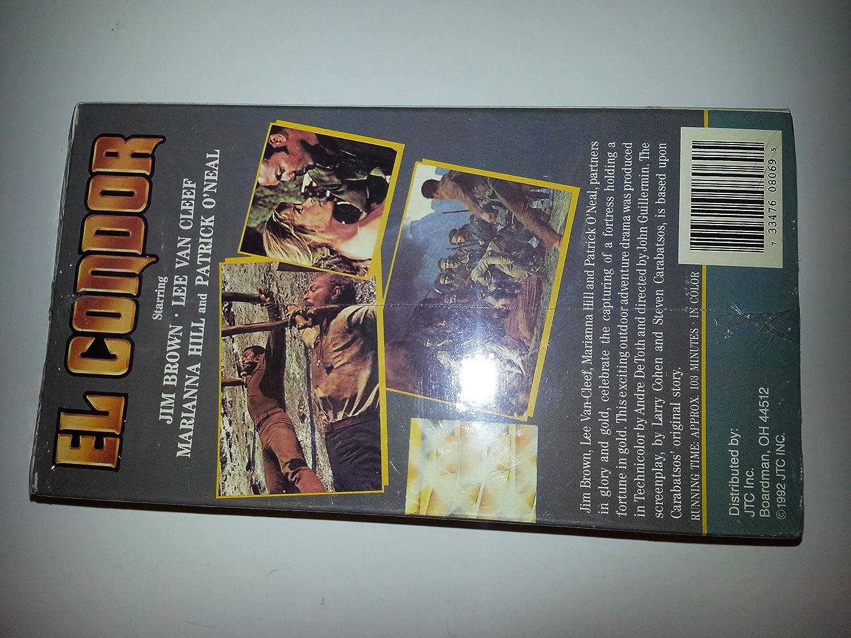 El Condor [VHS]: Amazon.es: Cine y Series TV