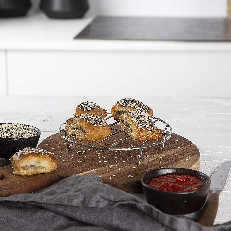 Grillrost Princess 10-teiliges Zubeh/ör-Set f/ür XL Hei/ßluftfritteuse 3,2 Liter Kuchenform Topfablage Muffinsch/älchen 182011 Pizzablech